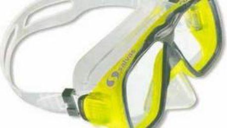 Potápěčské brýle Salvas Focus 2 SR, L, žluté