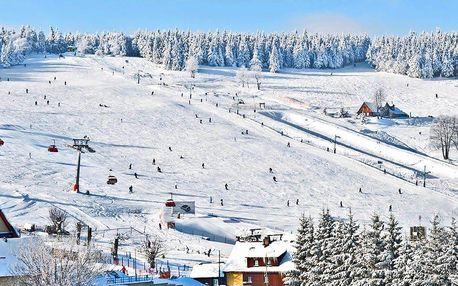 Zimní lyžovačka i jarní odpočinek v Orlických horách