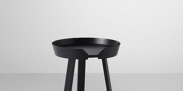 Muuto konferenční stolek Around 45 cm malý, černý