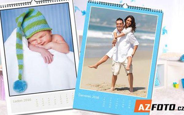 Nástěnný fotokalendář na rok 2016