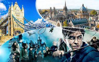 Londýn! 4denní zájezd pro 1 osobu s návštěvou ateliérů Harryho Pottera, 1x ubytováním a snídaní, z Prahy i Brna!
