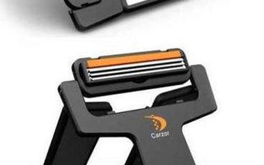 Skládací holící strojek na cesty s poštovným