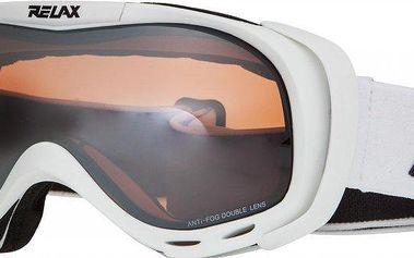 Lyžařské brýle Relax Airflow Bílá
