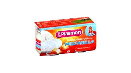 2x PLASMON Syrový příkrm Mozzarella PLASMON 80g