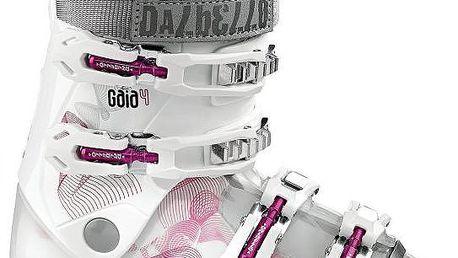 Juniorské čtyřpřezkové lyžařské boty Dalbello Gaia 4 Transp/White 21