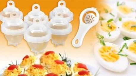 Nádobky na varenie vajíčok Eggies! Poštovné v rámci Slovenska je v cene kupónu!