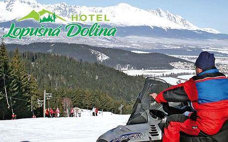 Hotel Lopušná Dolina 200 m od lyžařského střediska