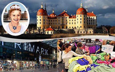 Zámek Moritzburg - Popelka a nákupy v Primarku