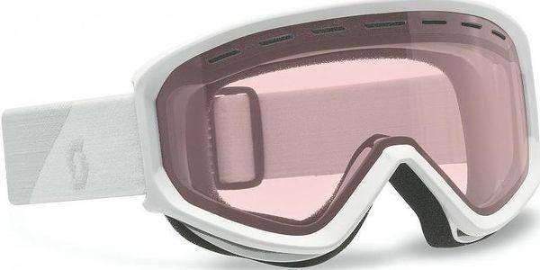 Univerzální lyžařské brýle Scott Goggle Fact standard white