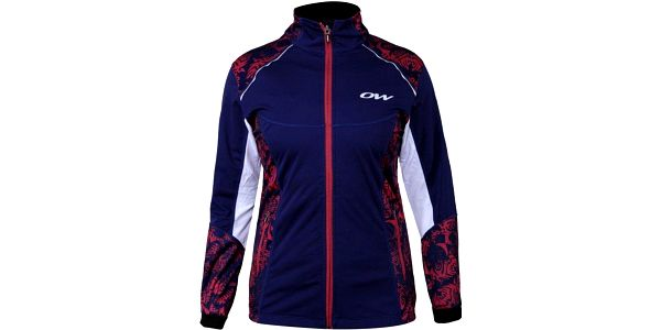 Dámská běžkařská bunda One Way Nirja 2 Women's Softshell Jacket Dark Blue M
