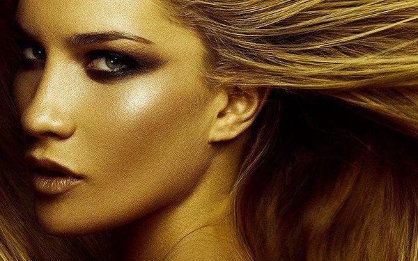 90minutové kosmetické ošetření s obsahem zlata