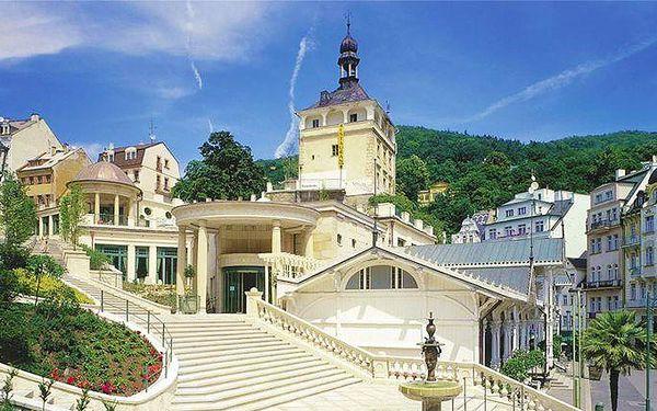 3–5denní pobyt v hotelu Ester**** v Karlových Varech pro 2 s polopenzí a wellness