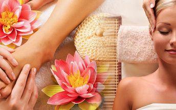 Balíček pro ženy 90 min. v Brně. Užijte si odpočinku a vychutnejte si relaxační masáže.