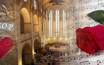 Exklusivní valentýnský koncert Hollywoodských romantických filmových melodií. Přijďte si vyslechnout více než deset nejznámějších romantických melodií z filmů v nádherných prostorách kostela U Salvátora v Praze. Titanic, Deník Bridget Jones, Pearl Harbor,