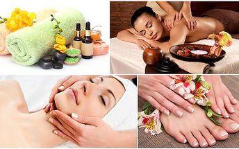 Spa manikúra a pedikúra, kosmetika, masáž, bahenní zábal i líčení – 4hodinová královská péče