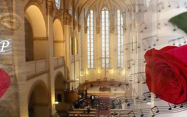Valentýnský koncert Hollywoodských romantických filmových melodií v kostela U Salvátora v Praze.