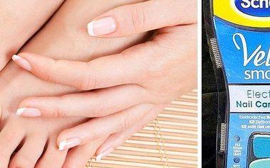 Elektrický pilník na nehty značky Scholl. Skvělá péče o nehty na rukou i nohou. Poštovné zdarma!