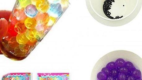 Barevné kuličky do vázy, květináče či misky, 8 barev v jednom balení, cca 900 ks. Doručení zdarma.