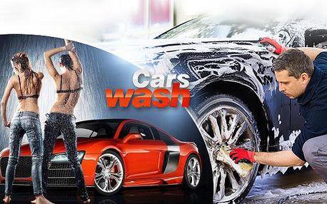 Kompletní ruční mytí vozu + tepování sedaček a čištění interiéru! Důkladná a profesionální práce!