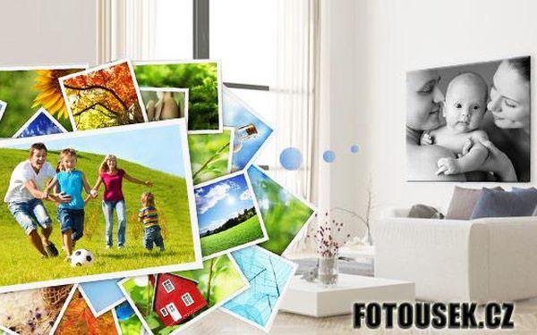 Fotoobraz z vlastních snímků na kvalitním malířském plátně! Na výběr ze 4 různých rozměrů!
