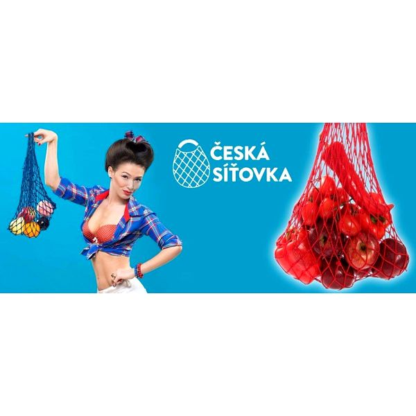 Česká síťovka – do nového roku bez igelitek