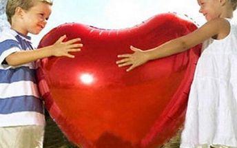 Fóliový balónek Srdce