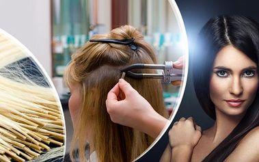 Prodloužení vlasů v pohodlí vašeho doma včetně dopravy zdarma! 70-100 pramenů v délce 30-50 cm + kartáč!