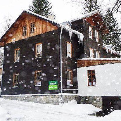 3 až 6 dní s polopenzí v horské chatě Eduard v Hrubém Jeseníku pro 2 osoby