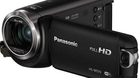 Panasonic HC-W570EP-K černá + Dárek v hodnotě 290 KČ