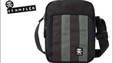 Stylová taška Crumpler v šedém provedení za 789 Kč! Spoléhejte na kvalitu.