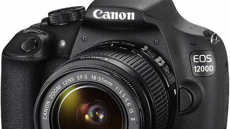 Canon EOS 1200D + EF-S 18-55 IS II + Dárek v hodnotě 490 KČ