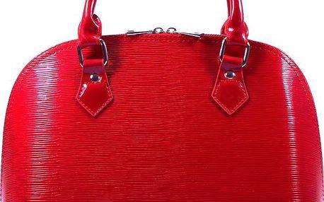 Menší červená kabelka 91606R UNI