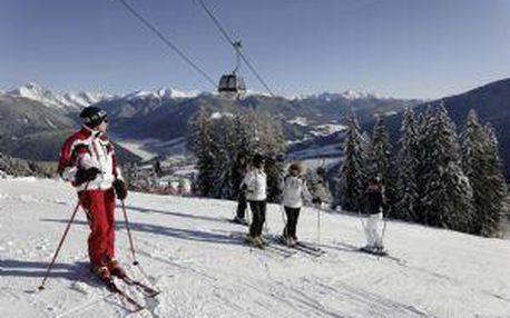 Lyžovačka Kronplatz, PŘES DEN busem Sleva na SKIPASY až 22 %, skiareály Plose Val di Isarco, polopenze