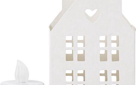 Svícen Domeček s LED svíčkou