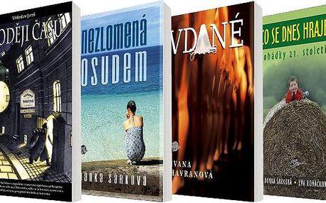 Čtveřice knih s poutavými, zábavnými i mysteriózními příběhy