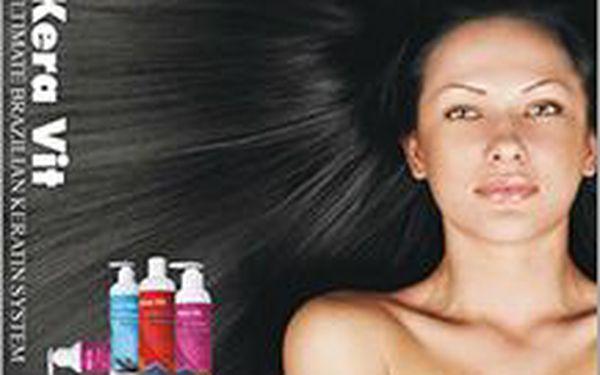 Brazilský keratin regeneruje vaše unavené vlasy! Rychle, šetrně a účinně vyživuje vaše kadeře.