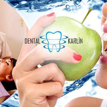 Dentální hygiena s Air Flow v Dental Karlín na Praze 8! Odborná péče o Vaše zuby!