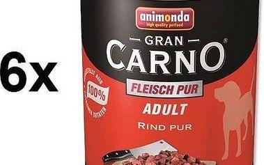 Animonda Adult Gran Carno hovězí maso 6 x 800g