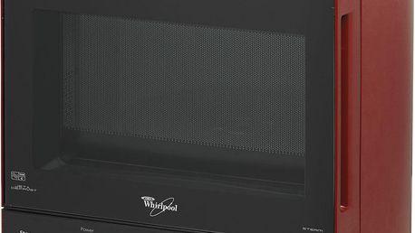 Mikrovlnná trouba Whirlpool MAX 35, červená