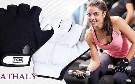 Polokožené unisex fitness rukavice německé výroby ve velikosti L/XL. Na výběr i varianta včetně poštovného!