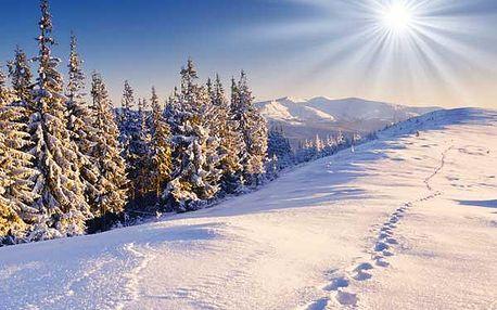 Zimní rodinná dovolená v Krkonoších