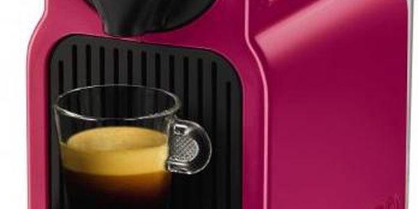 Nespresso Krups Inissia fuchsia XN1007 + voucher na kávu ZDARMA!