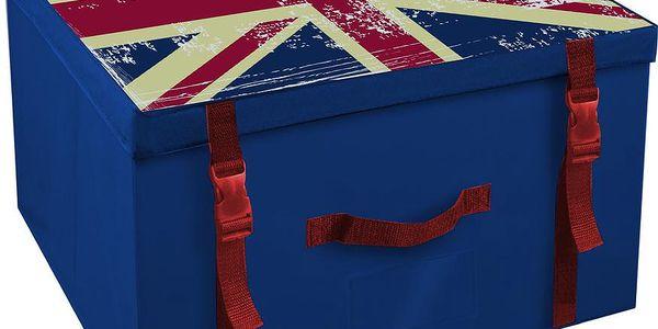 Úložná krabice Union Jack, 50x40 cm