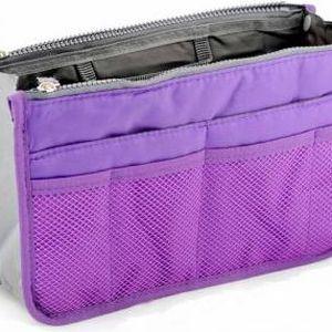 Organizér do kabelky - fialová