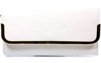 Elegantní bílé psaníčko V-181-180WH UNI