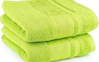 4Home ručník Bamboo Exclusive zelená, sada 2 ks