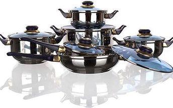 Sada nádobí VETRO-PLUS VTP 4812, Blue, 12-dílná