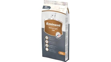 Granule Eminent Senior Light 15 kg + 2 kg ZDARMA