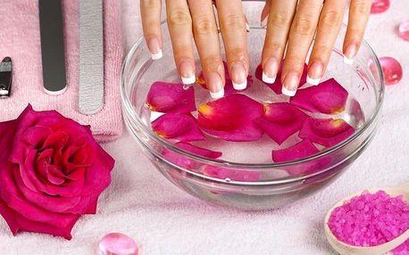 Zdravotní balíček pro Vaše ruce - manikúra a akupresura 90 minut