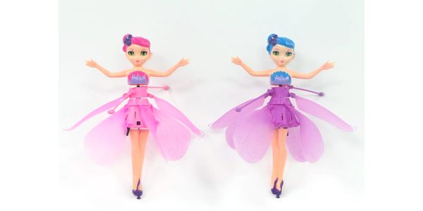 Tančící létající víla Flower fairy